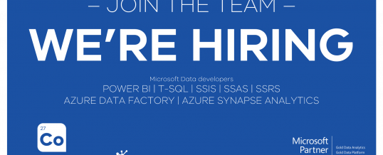 Read more about the article We're Hiring